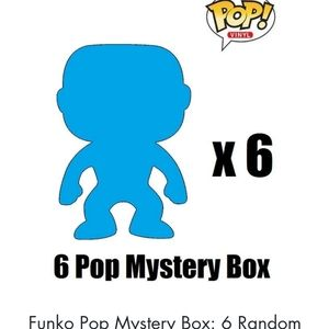 Funko Pop Mystery Box 6 Randomized pops